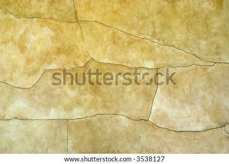 Abstract faded painted stucco wall - background texture