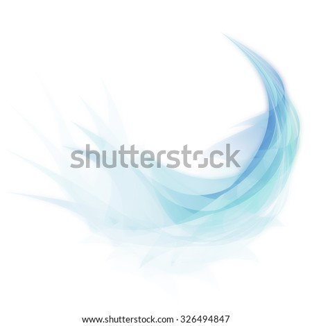 Stock Photo Abstract feather design