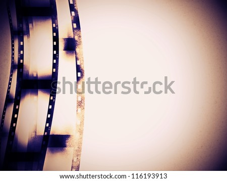 abstract film strip background, texture