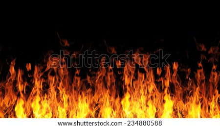 abstract fire flame background #234880588