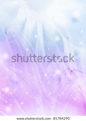 Abstract floral background, beautiful flowers collage, colorful holiday pattern