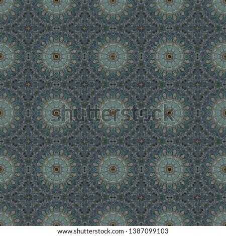 abstract floral dark slate gray, gray gray and light slate gray color pattern. seamless decorative backdrop for banner, cards, poster or creative fasion design.