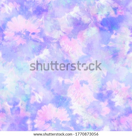 Abstract Floral Pastel Tie Dye Print  Stock foto ©