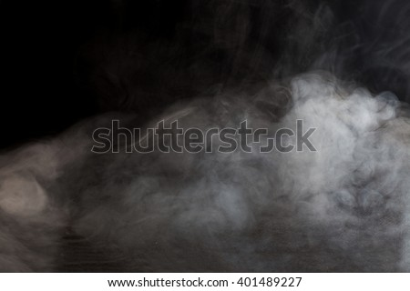 Abstract fog or smoke move on black color background #401489227