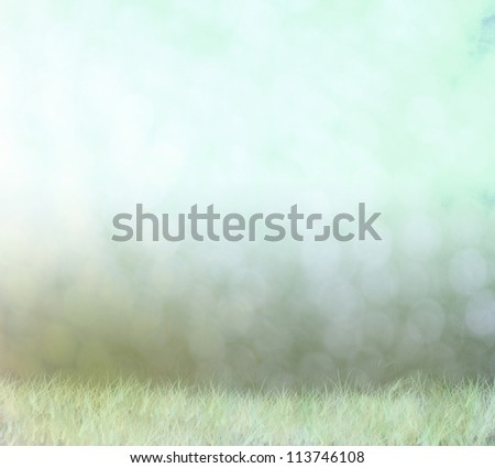 Abstract foggy background with bokeh effects