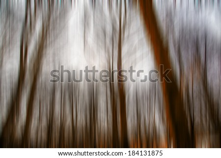 abstract forest in autumn time,motion blur,forest background