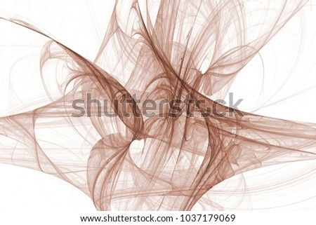 Abstract Fractal Background Color Fireworks Abstract Painting