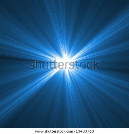 Abstract fractal background. Computer generated graphics. Extreme speed light blur.