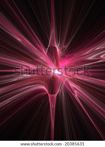 Abstract Fractal Background. Computer Generated Graphics ...