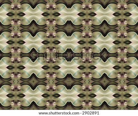 wallpaper black pattern_10. stock photo : Abstract fractal image resembling silky medallion wallpaper background