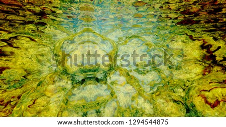 Abstract fractal image. The beautiful background created by means of the generator of fractals. #1294544875