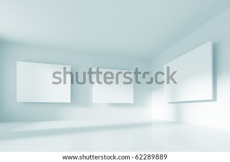 Abstract Gallery Interior