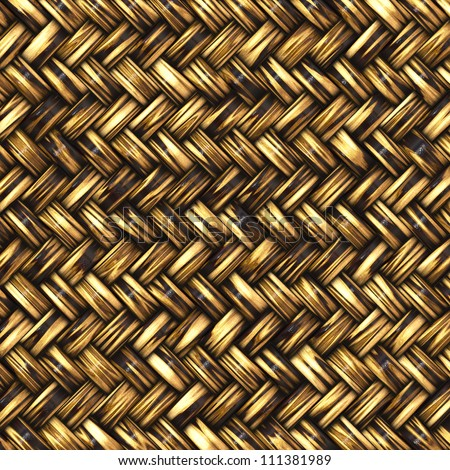 Abstract generated wicker pattern for background and design