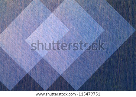 Abstract geometric background of blue.