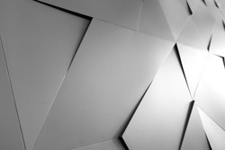Abstract geometric background of the wall