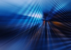 abstract geometric background with crossing planes imitating tunnel