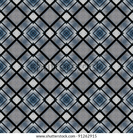 Abstract geometric pattern in shades of blue with a sense of marble. Can be used as wallpaper.