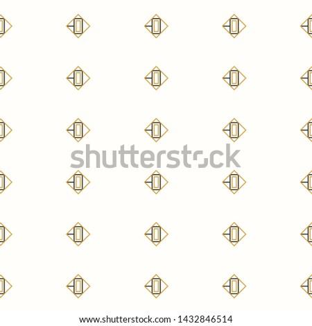 Abstract geometric pattern. Seamless geometric pattern. Geometric simple print.