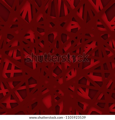 Abstract geometrical red background. Vector Illustration. textured background