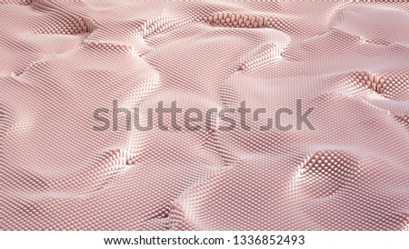 Abstract geometry background. 3d illustration, 3d rendering. #1336852493