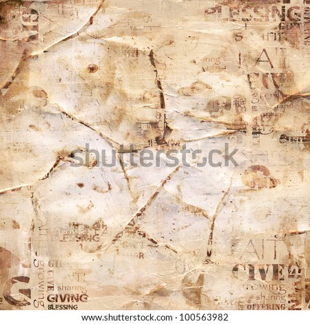 Abstract Giving Background