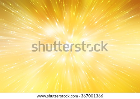 abstract gold background. explosion star.