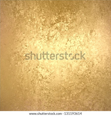 abstract gold background foil vintage paper texture layout with old light distressed sponge texture on beige cream grunge background texture design, light gold Christmas background holiday brochure ad