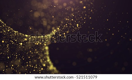 Abstract Gold Background. Glitter Background.  #521511079