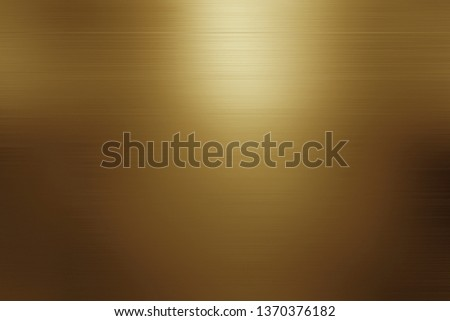 abstract gold background luxury Christmas holiday wedding background brown frame bright spotlight smooth vintage background texture gold paper layout design bronze brass background sunshine gradient Foto d'archivio ©