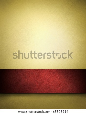 abstract gold background of red ribbon on beautiful Christmas background, anniversary, valentines day, fancy elegant background gold paper has vintage grunge background texture, luxurious