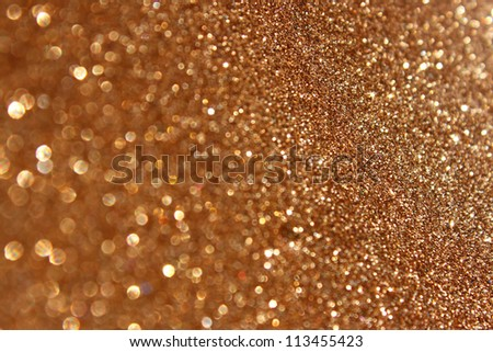 Abstract gold background with copy space