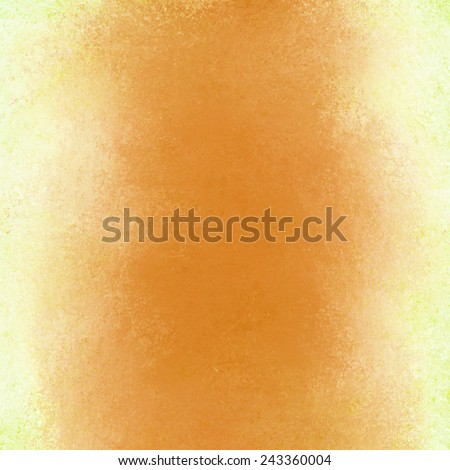 abstract gold background with white border and vintage grunge background texture layout, old painted wall
