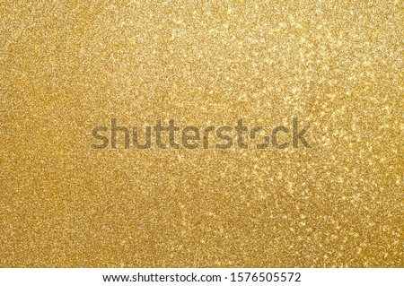 Abstract gold glitter texture sparkle background