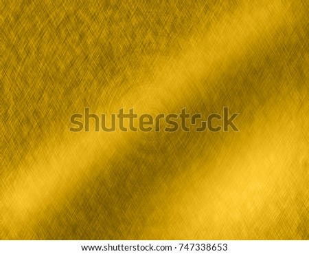 Abstract Gold metal brushed background or texture #747338653