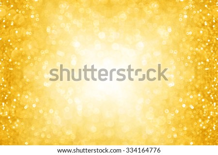 Abstract gold sparkle glitter background party invitation for Christmas and holidays
