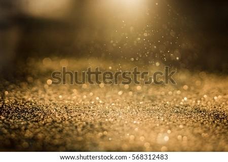 Abstract golden glitter. #568312483