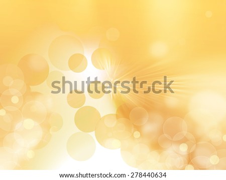 Abstract golden stars background luxury Christmas holiday, wedding background brown frame bright spotlight smooth vintage background texture gold paper