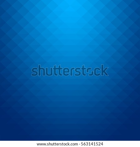 Abstract gradient art geometric background with soft blue color tone. Raster image.