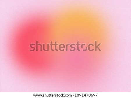 Abstract gradient blurred pattern colorful with grain noise effect background, for product design and social media
