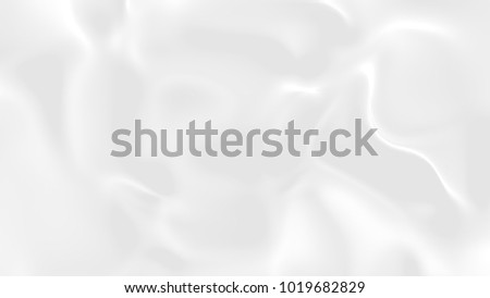 Abstract gradient white grey cloud gradation background.