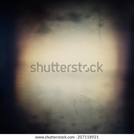 Abstract grained grunge film strip texture