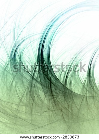 abstract grass in the wind
