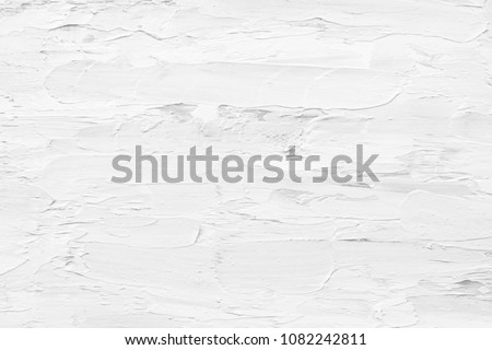 Abstract gray and white texture background of oil painting for modern decoration, wallpaper or creative  art or graphic design #1082242811