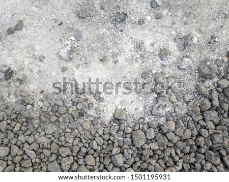abstract gray background. gray stones and dust #1501195931