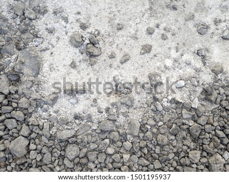 abstract gray background. gray stones and dust #1501195937
