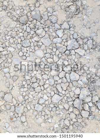 abstract gray background. gray stones and dust #1501195940