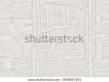 Abstract gray papyrus / wood watercolor paper texture background. Kraft paper grey box craft pattern. New clean empty view. Сток-фото ©