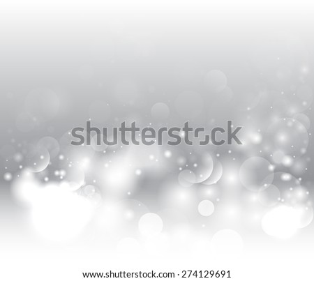 Abstract gray winter background. Abstract snow background. Magic light background.