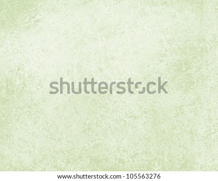 abstract green background, elegant pale vintage grunge background texture design with white faded color, light green paper