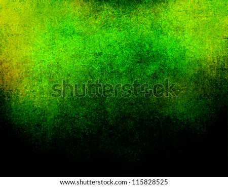 abstract green background or dark paper with bright border spotlight and black vignette border frame with vintage grunge background texture black paper layout design for elegant luxury background ad
